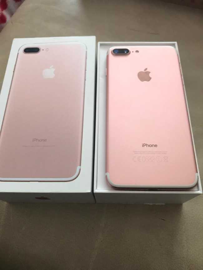 Iphone 7 plus 128g rose