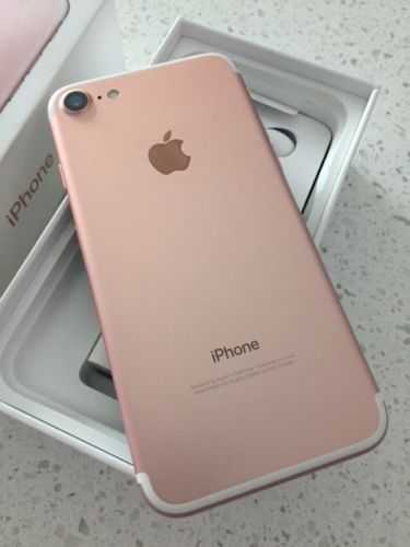 Iphone 7 simple 32g rose gold