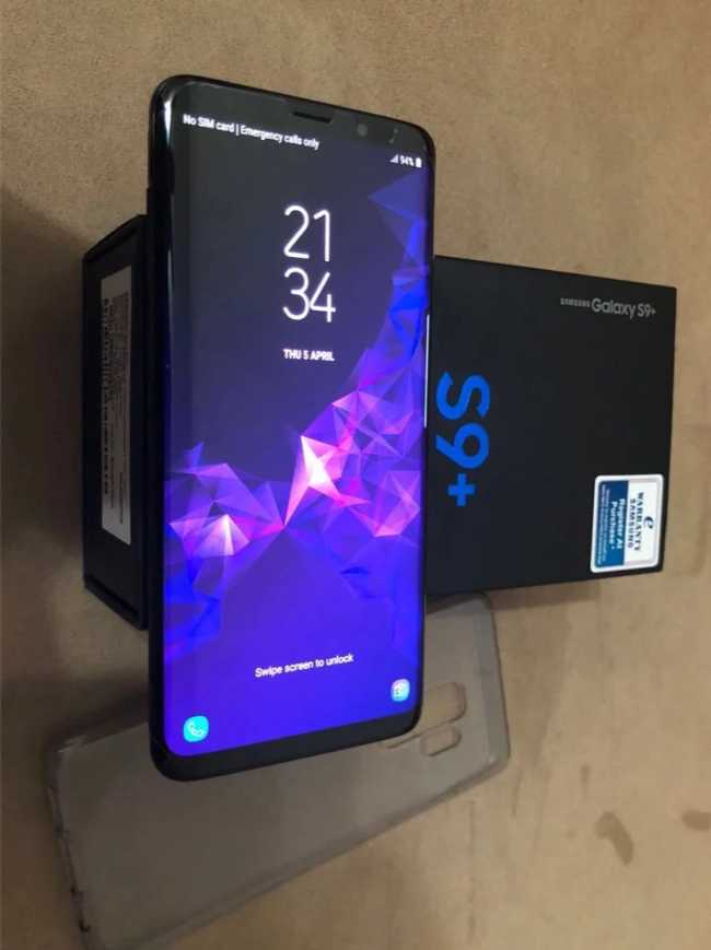 Samsung Galaxy S9 plus 64g اجديد