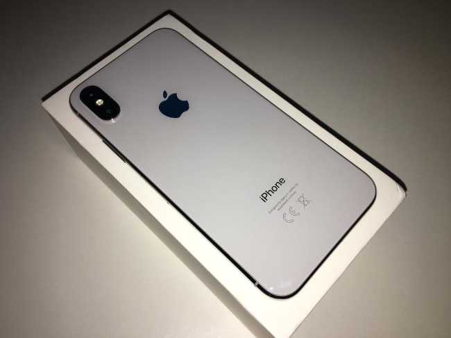 Iphone X 256g silver