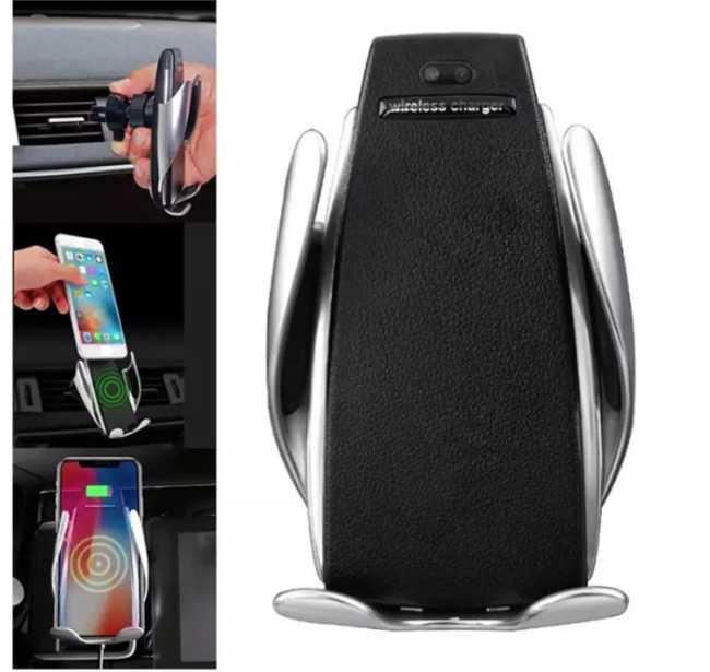 Chargeur sans fil téléphone en voiture