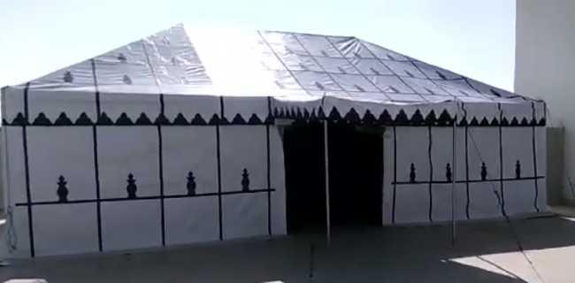 خيام مغربية بكل الأحجام ( بالطلب)