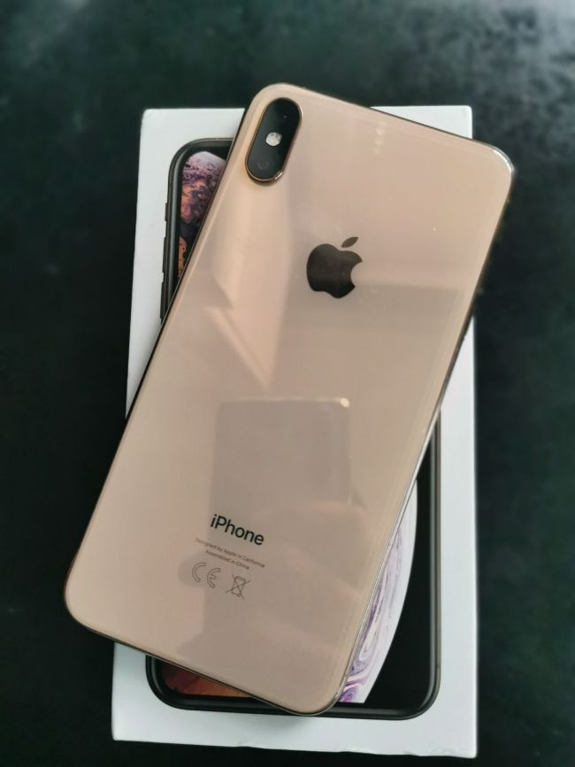 Iphone Xs Max 64g Gold