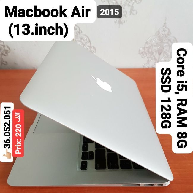 Macbook 2015 CORE i5 RAM 8G 128G SSD