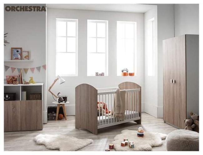 Chambre complète bébé de chez orchestra - voursa.com