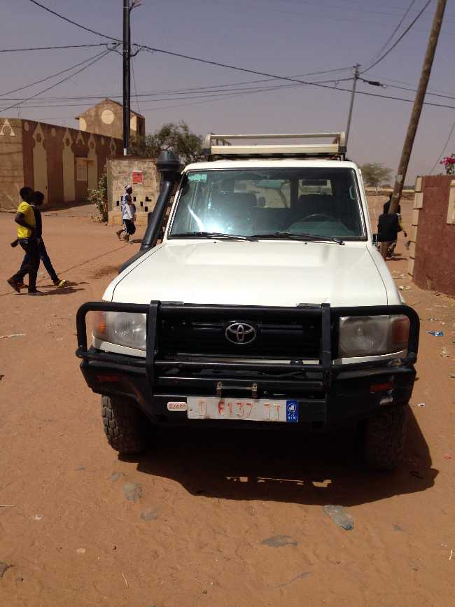 Avis de vente d'une Toyota Hard Top_Land Cruiser