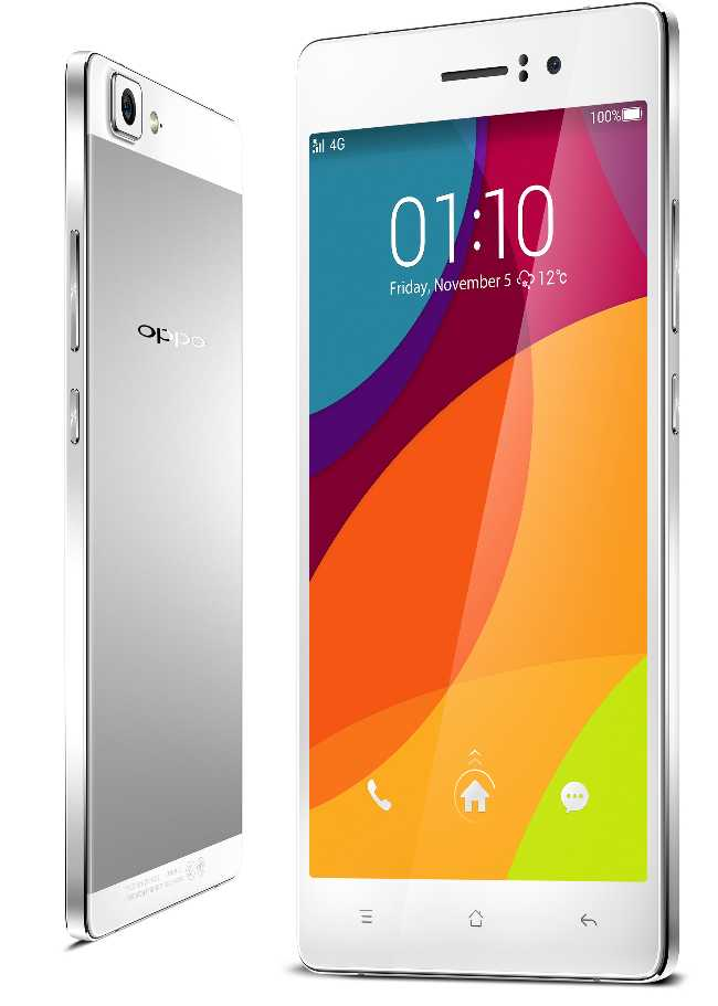 OPPO R5 smartphone android