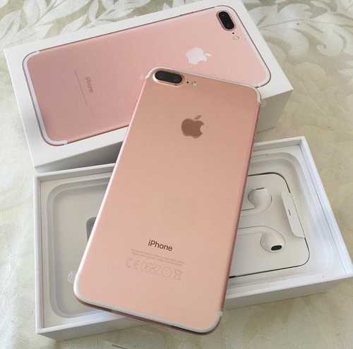Iphone 7+ rose gold 128g