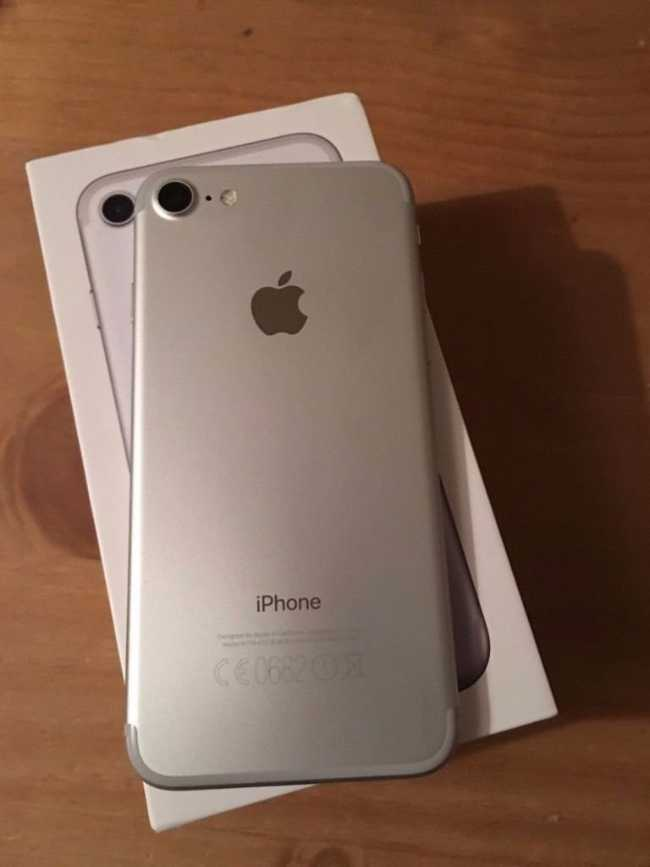 IPhone 7 simple 32g silver