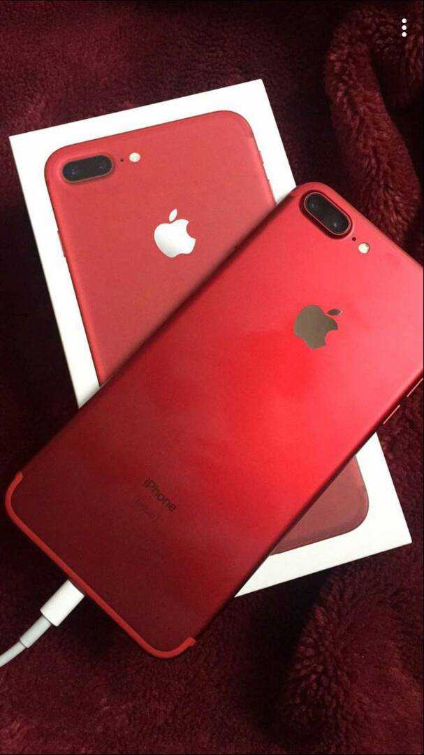 Iphone 7 + 128g Red