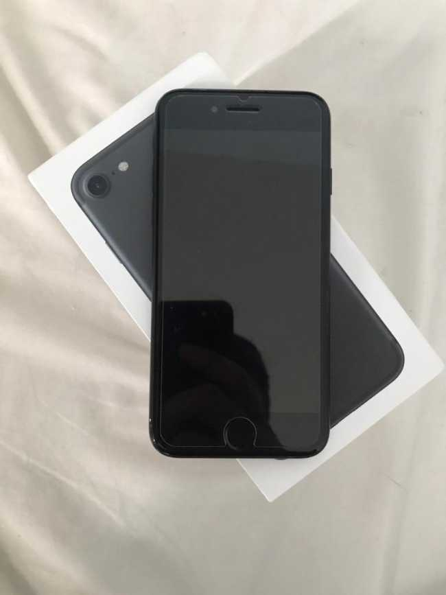 Iphone 7 simple 32g black